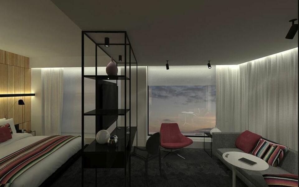 Hotel monville a design boutique hotel montr al canada for Hotel design montreal