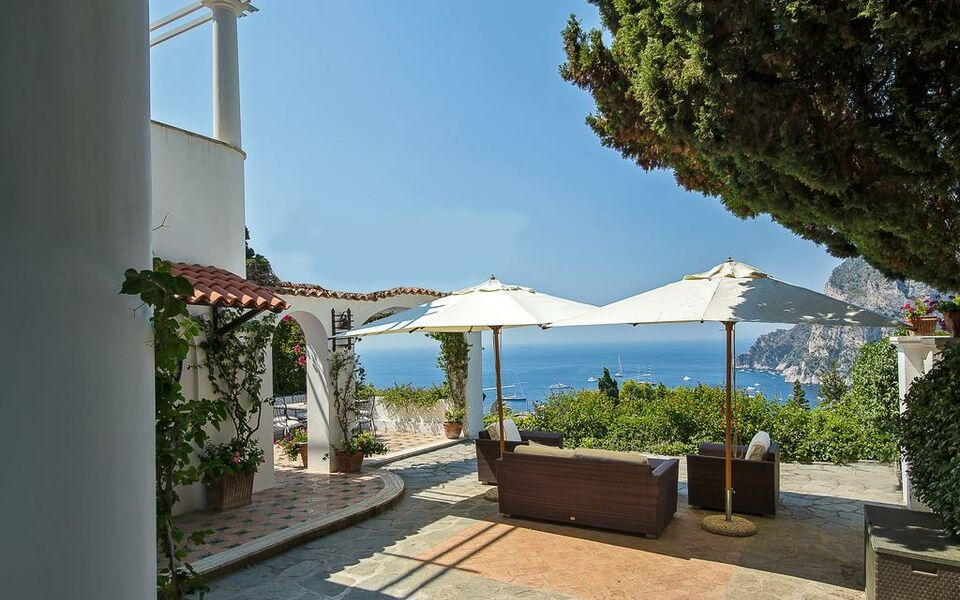 Villa hibiscus a design boutique hotel capri italy for Boutique hotel capri