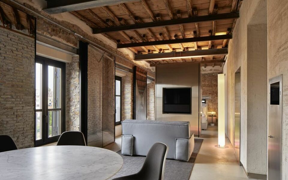 The Rooms of Rome - Palazzo Rhinoceros | Designed by Jean Nouvel |, Rome (1)