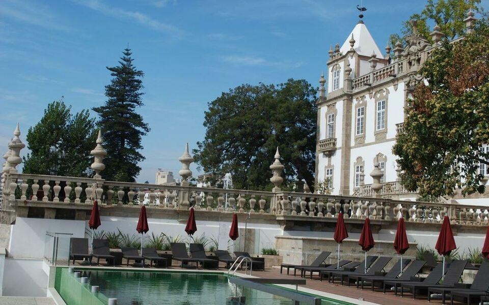 pestana pal cio do freixo pousada national monument a design boutique hotel porto portugal. Black Bedroom Furniture Sets. Home Design Ideas