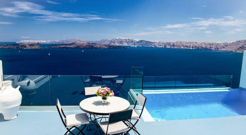 Astarte suites santorini grecia - Hotel con piscina privata grecia ...