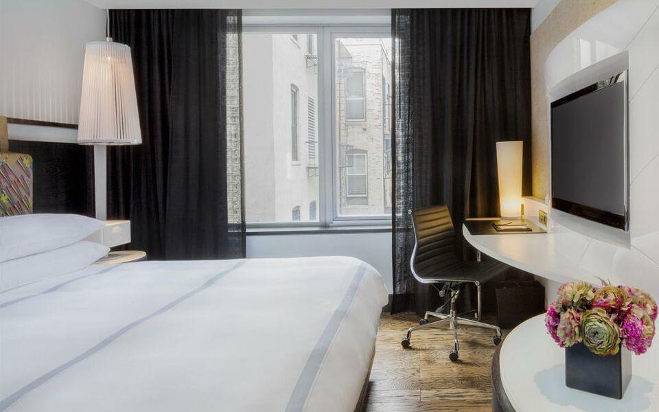 Hyatt union square new york a design boutique hotel new for Room decor union city