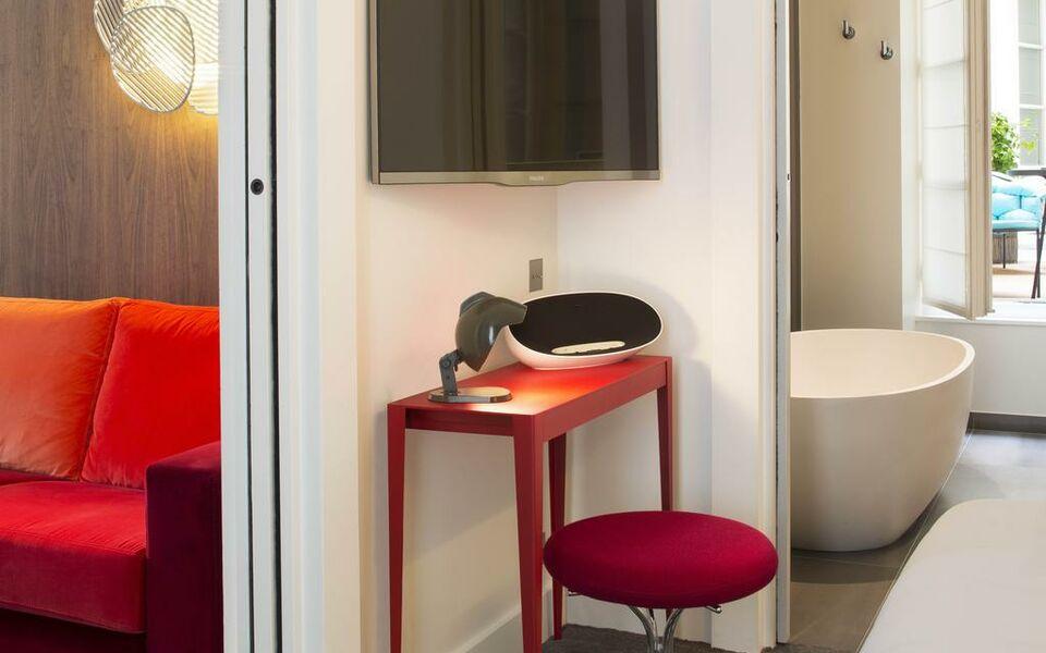 hotel dupond smith paris france my boutique hotel. Black Bedroom Furniture Sets. Home Design Ideas