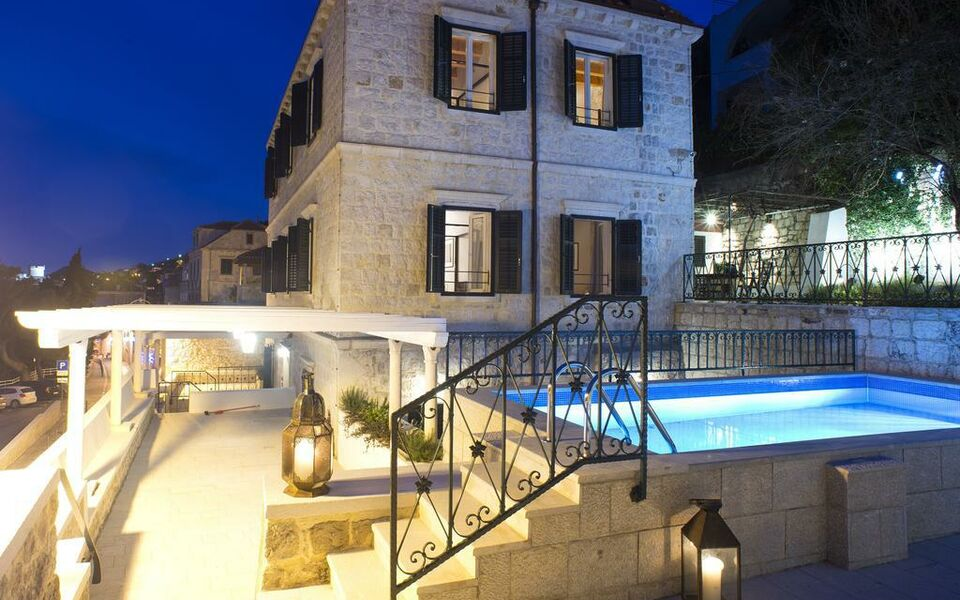 Villa allure of dubrovnik a design boutique hotel for Design hotel croatia