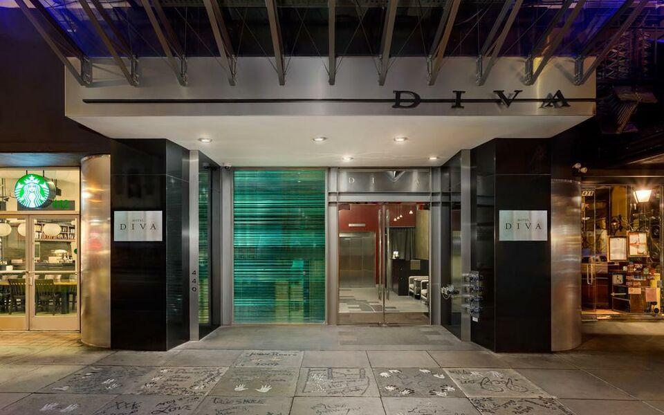 hotel diva san francisco a design boutique hotel san. Black Bedroom Furniture Sets. Home Design Ideas