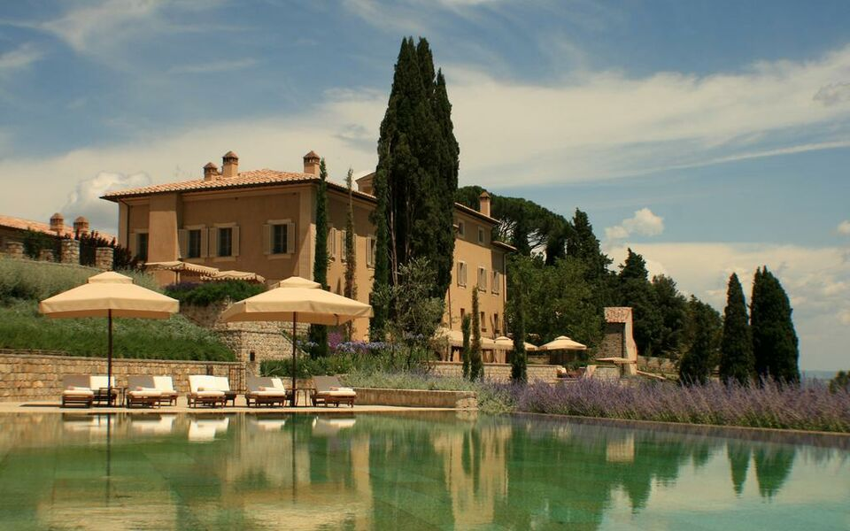 rosewood castiglion del bosco a design boutique hotel