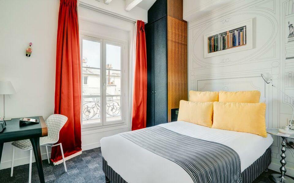 hotel joyce astotel a design boutique hotel paris france. Black Bedroom Furniture Sets. Home Design Ideas
