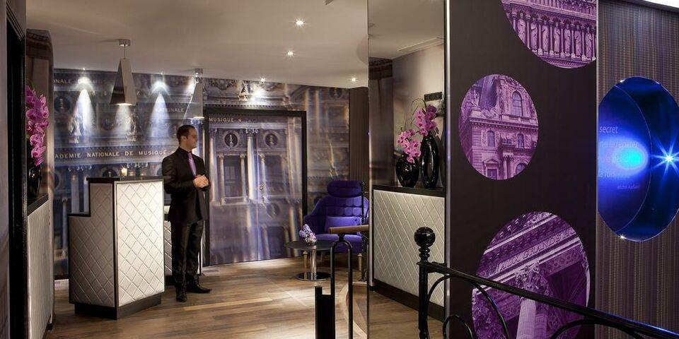 Hotel design secret de paris paris frankreich for Hotel design secret
