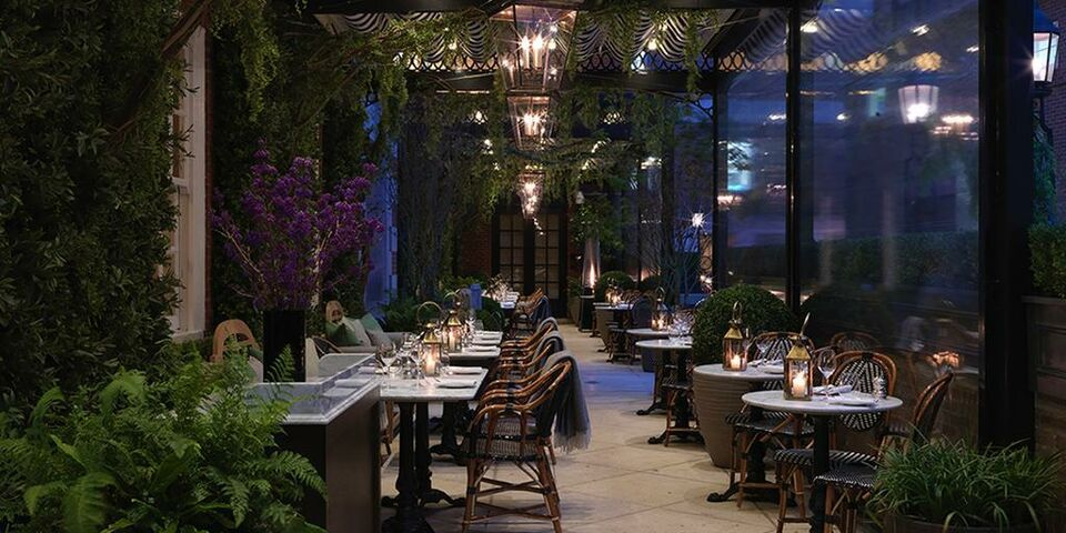 The bloomsbury hotel a design boutique hotel london for Bloomsbury hotel terrace