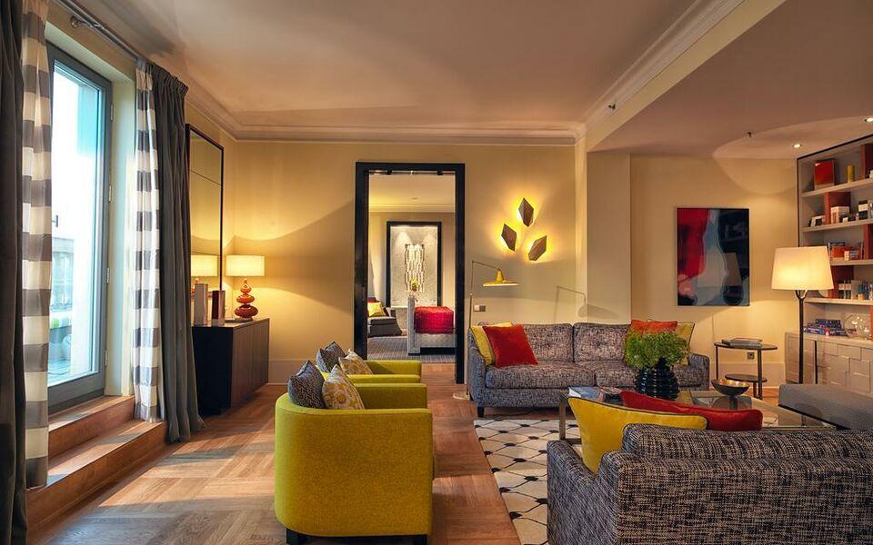 Rocco forte hotel de rome a design boutique hotel berlin for Design boutique hotels rome