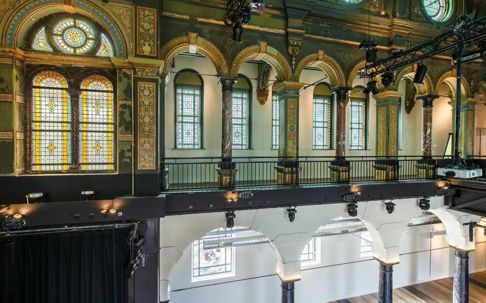 Hotel arena a design boutique hotel amsterdam netherlands for Design hotels arena