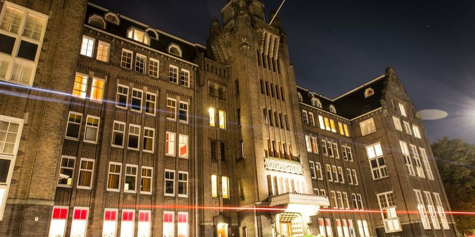 Lloyd hotel and cultural embassy a design boutique hotel for Lloyd hotel amsterdam