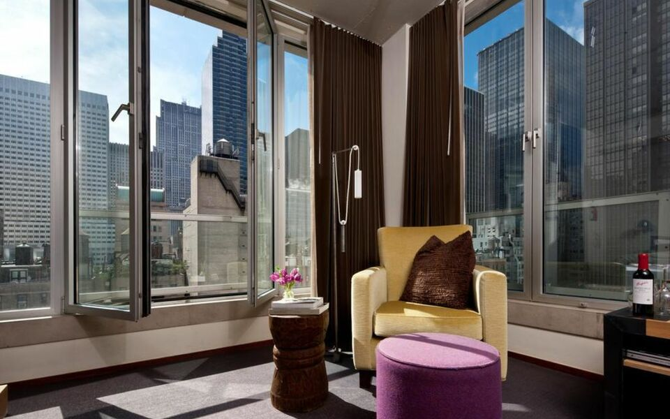 Chambers hotel a design boutique hotel new york city u s a for Boutique hotels near central park