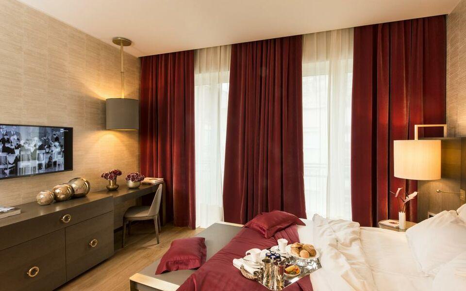 rosa grand milano starhotels collezione mailand italien. Black Bedroom Furniture Sets. Home Design Ideas