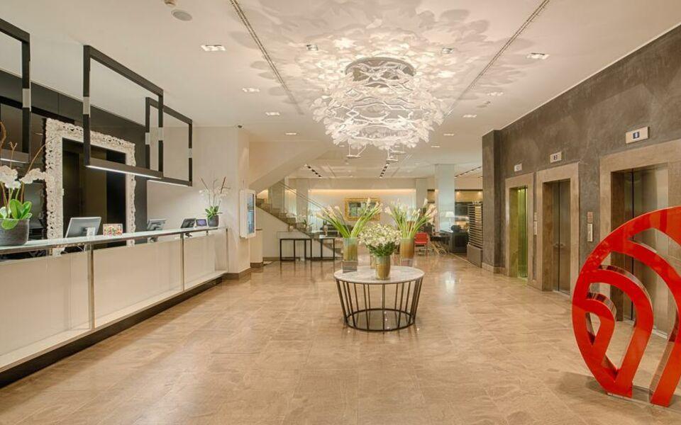 Nh collection milano president a design boutique hotel for Boutique hotel milano