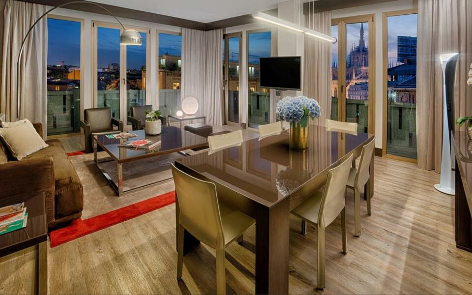 Nh collection milano president mailand italien for Boutique hotel milano centro
