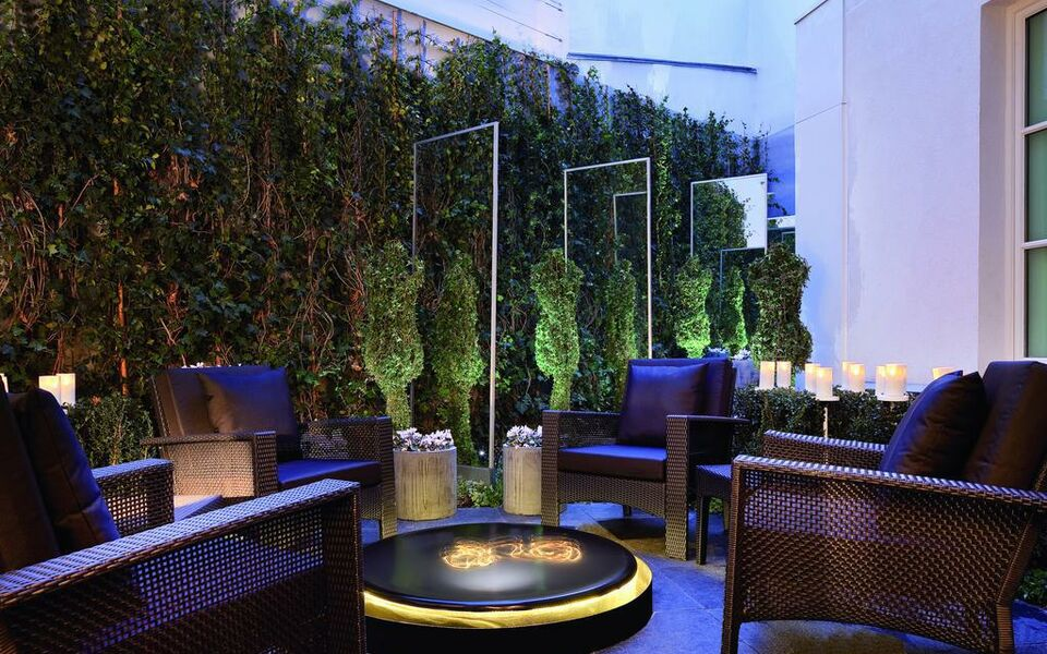 les jardins de la villa a design boutique hotel paris france