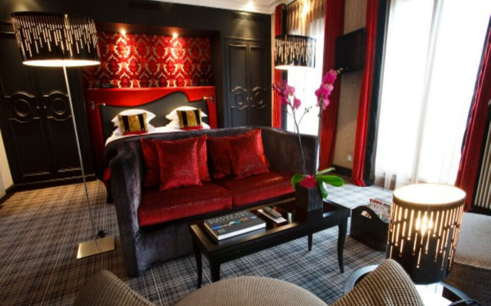 Edouard 7 paris op ra a design boutique hotel paris france for Hotel design paris 7