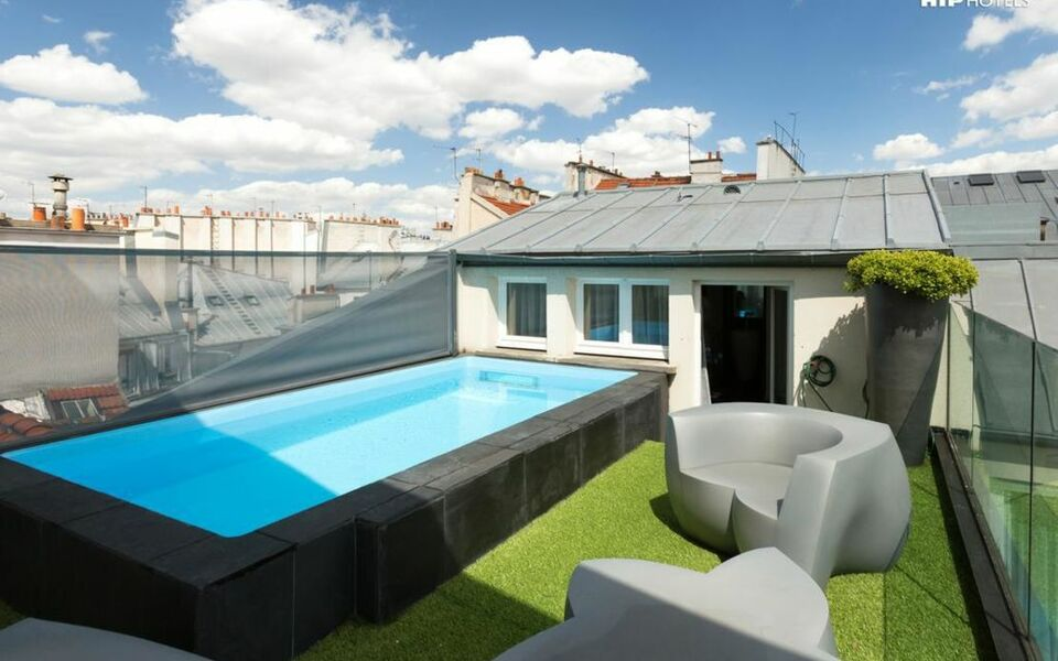 1k hotel paris france my boutique hotel. Black Bedroom Furniture Sets. Home Design Ideas
