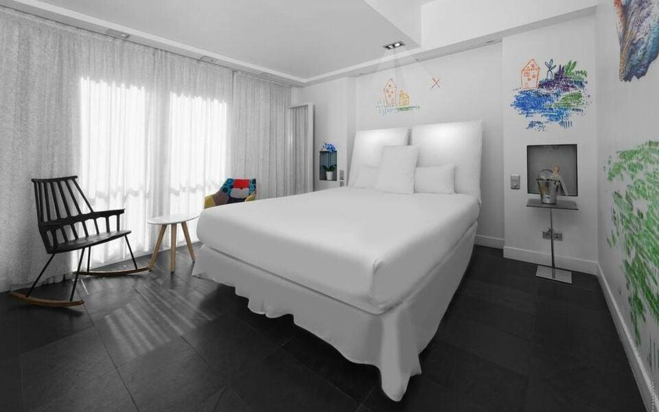 1k hotel a design boutique hotel paris france for Hotel design 75003