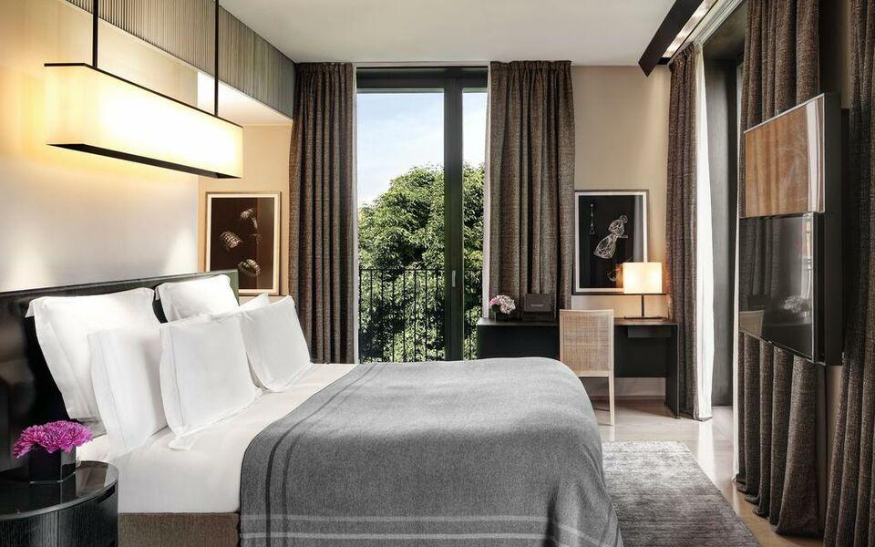 Bulgari hotel milano a design boutique hotel milan italy for Design hotel milan