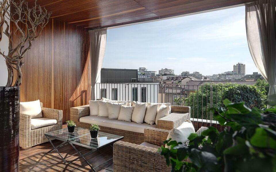 Bulgari hotel milano a design boutique hotel milan italy for Garden designer milano