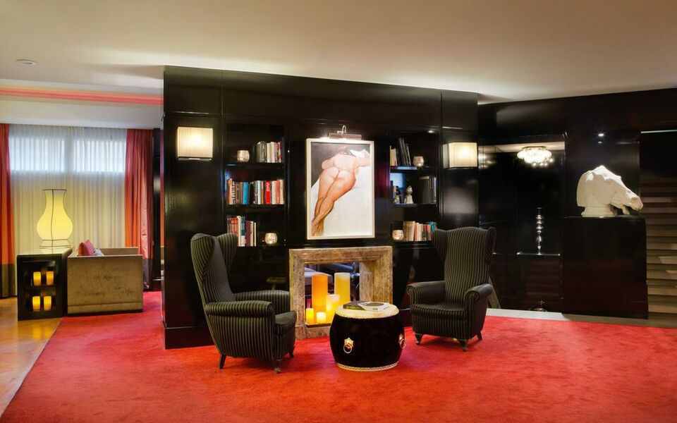 Starhotels anderson a design boutique hotel milan italy for Design hotel milano