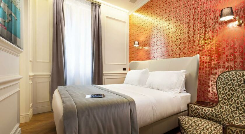 The corner townhouse rome italie my boutique hotel - Chambre double standard ...