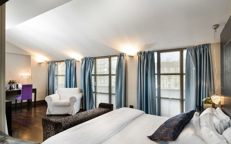 Townhouse 12 a design boutique hotel milan italy for Boutique hotel gerusalemme