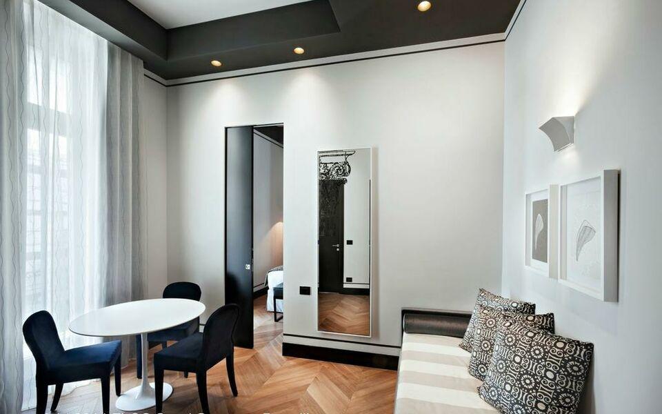 Corso 281 luxury suites a design boutique hotel rome italy for Design boutique hotel rome