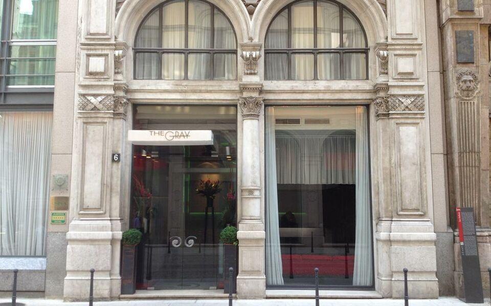 sina the gray a design boutique hotel milan italy