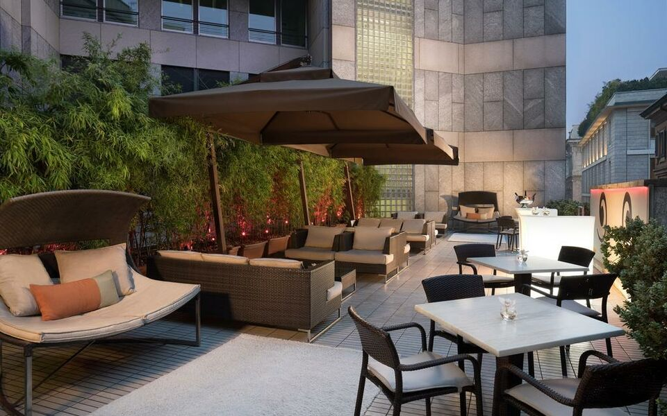 Sina the gray a design boutique hotel milan italy for Boutique hotel milano