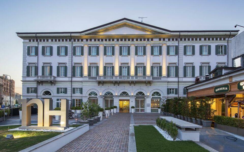 Nh milano palazzo moscova mailand italien for Nh hotel milano