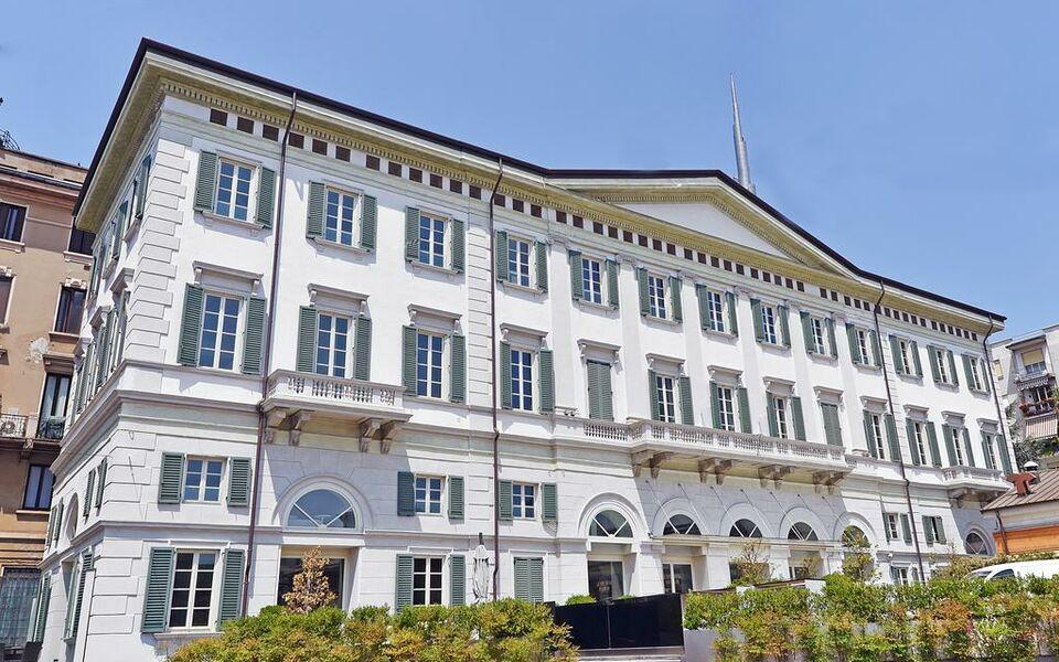 Nh milano palazzo moscova a design boutique hotel milan for Nh hotel milano