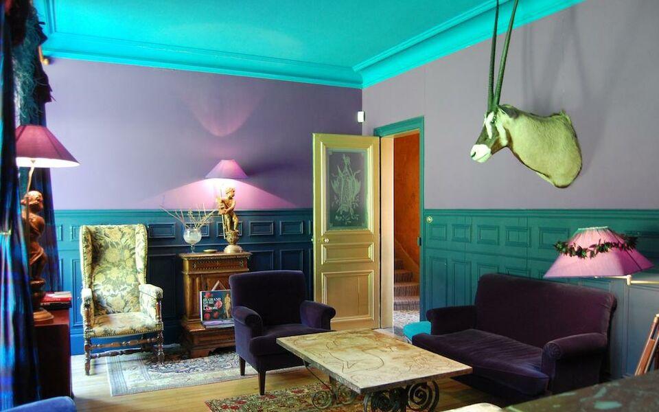 maison d 39 h tes stella cadente a design boutique hotel provins france. Black Bedroom Furniture Sets. Home Design Ideas