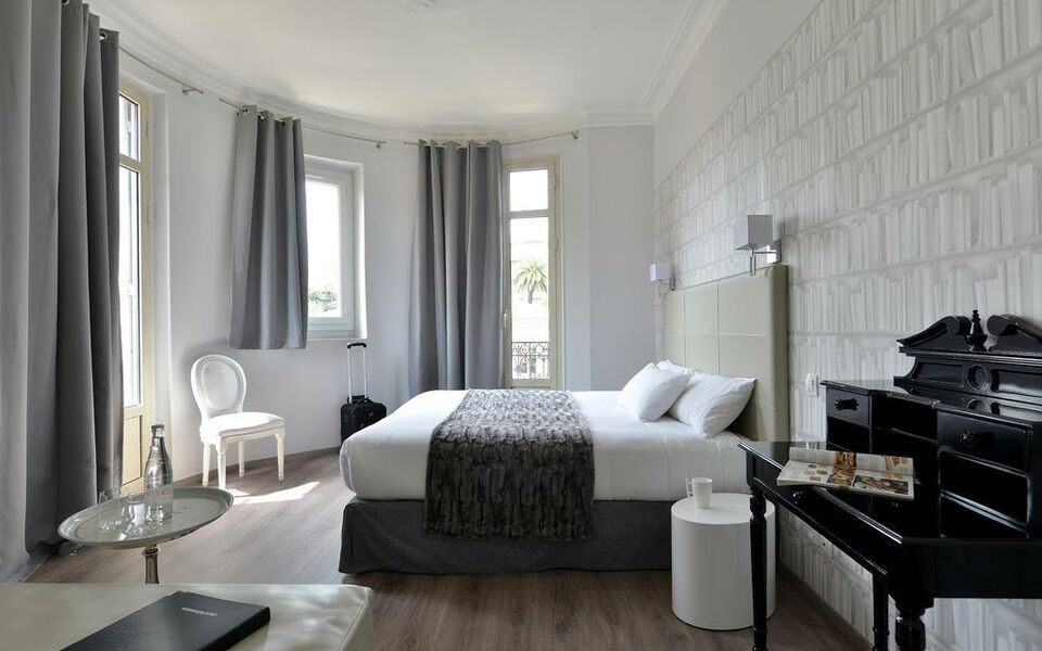 Hotel la villa nice victor hugo a design boutique hotel for Boutique hotel nice