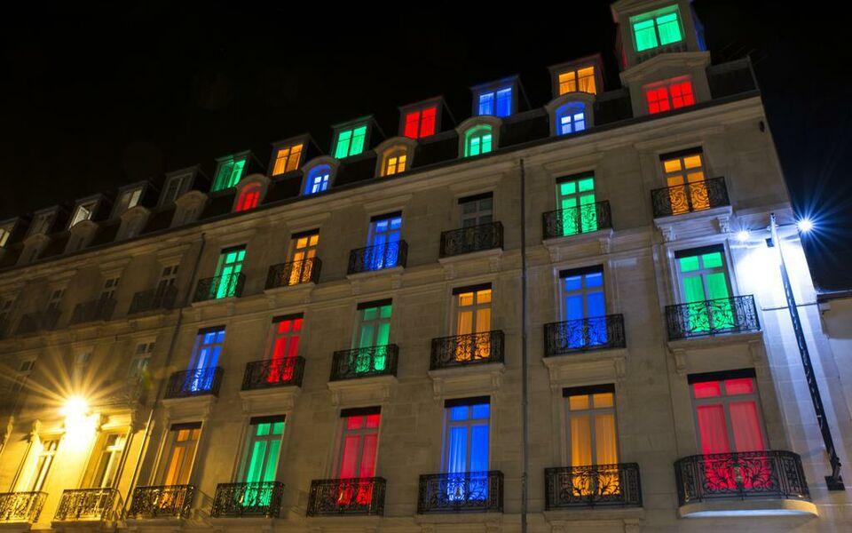 Vertigo design hotels a design boutique hotel dijon france for Hotels dijon