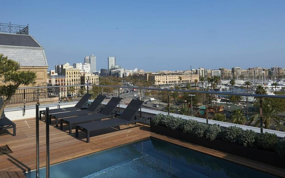 hotel the serras a design boutique hotel barcelona spain. Black Bedroom Furniture Sets. Home Design Ideas
