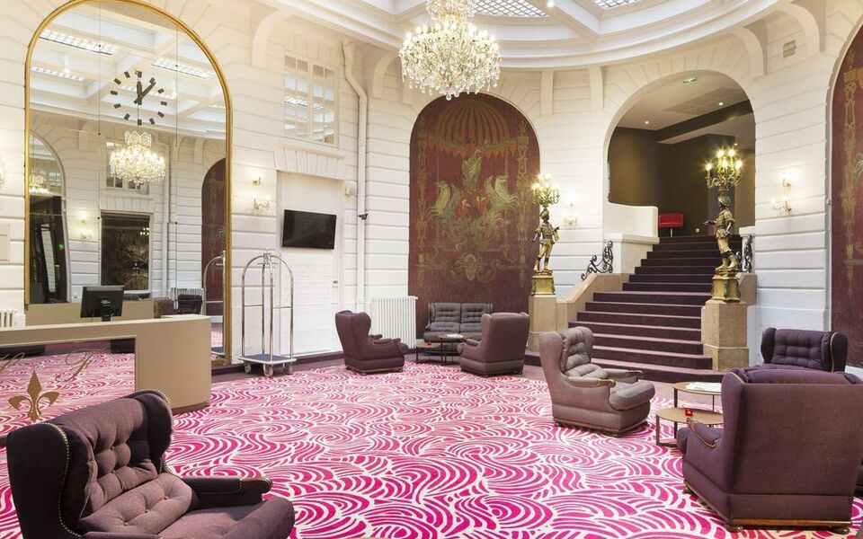 Oceania l 39 h tel de france nantes a design boutique hotel for Hotel design nantes