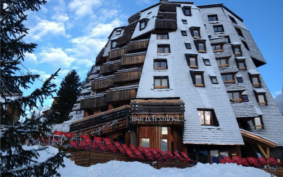 hotel des dromonts avoriaz france my boutique hotel. Black Bedroom Furniture Sets. Home Design Ideas