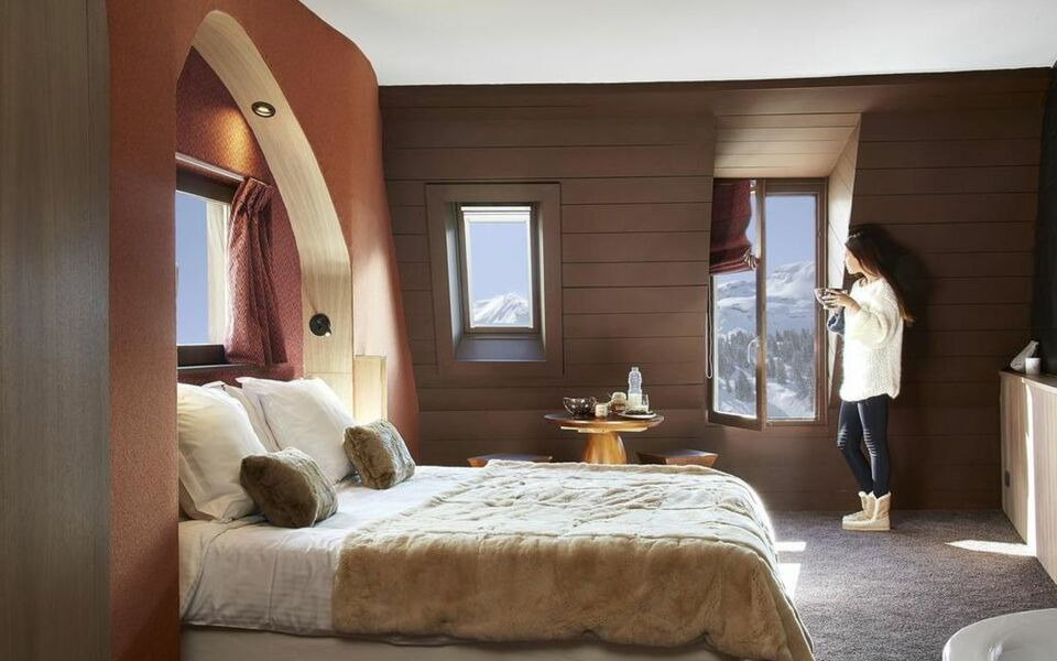 hotel des dromonts avoriaz francia. Black Bedroom Furniture Sets. Home Design Ideas