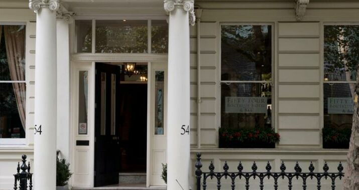 Fifty four boutique hotel londres reino unido for Boutique hotel 54 london