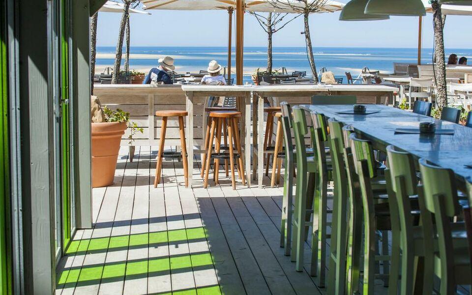 Hotel la co o rniche pyla sur mer france my boutique hotel for La boutique hotel de bordeaux