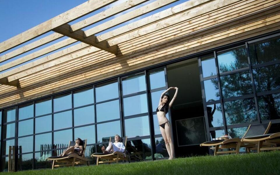 Cabina Estetica Yves Rocher : La gree des landes eco hotel spa yves rocher la gacilly francia