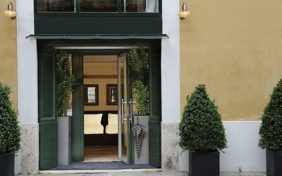 Margutta 54 luxury suites a design boutique hotel rome italy for Design boutique hotel rome