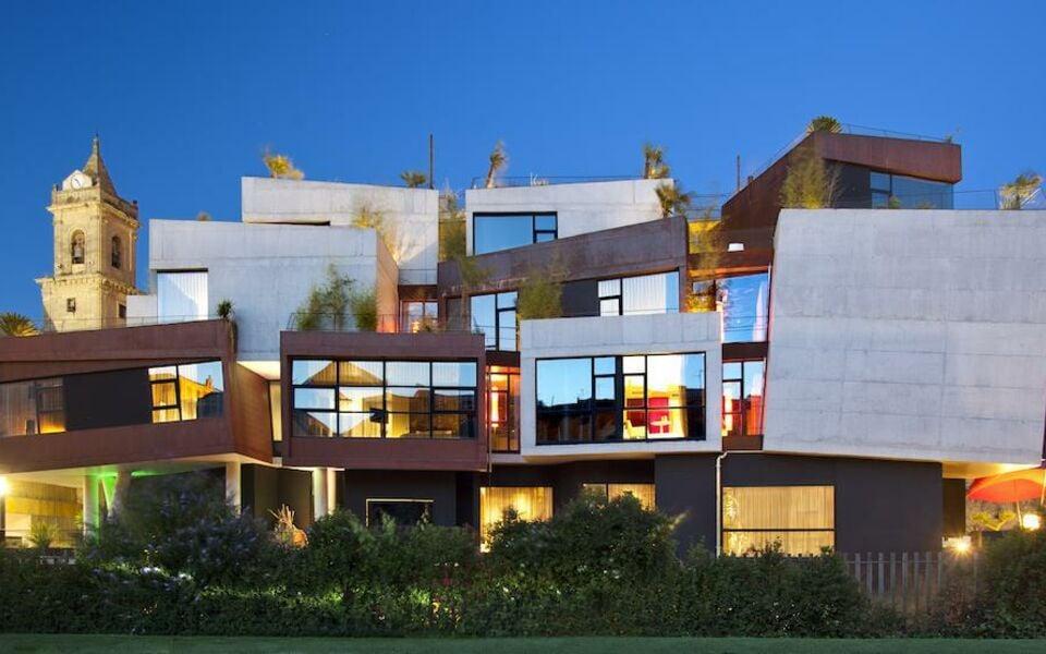 Hotel viura a design boutique hotel villabuena de alava for Viura hotel