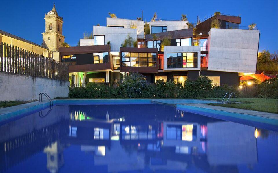 Hotel viura villabuena de alava spanien for Designhotel spanien