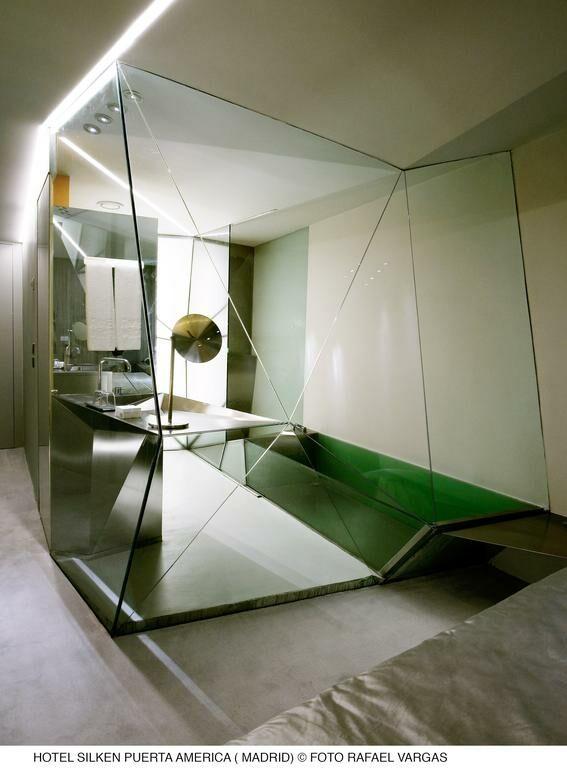Hotel puerta america a design boutique hotel madrid spain for Hotel silken puerta america plantas