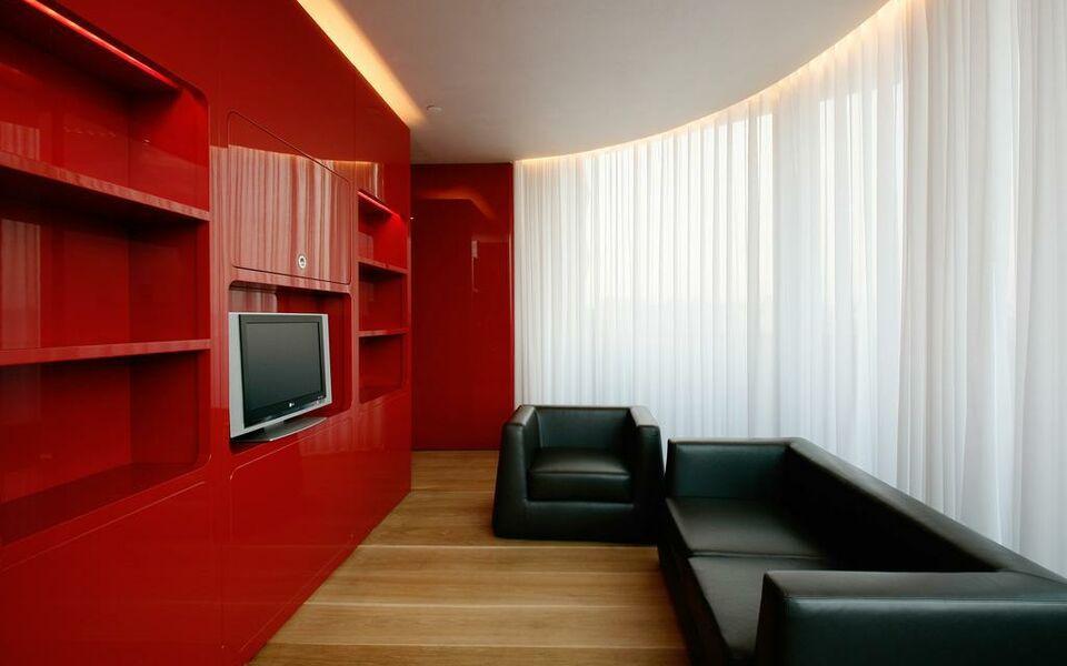 Hotel puerta america a design boutique hotel madrid spain for Design boutique hotel madrid