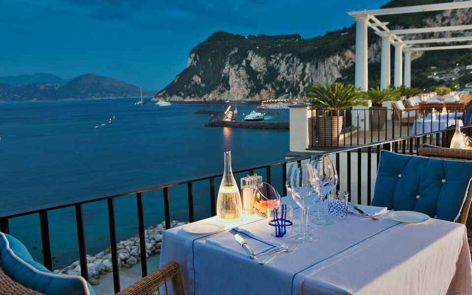 J k place capri capri italien for Boutique hotel capri